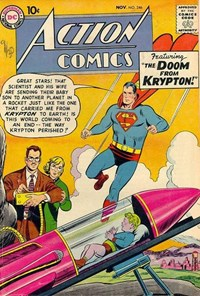 Action Comics (DC, 1938 series) #246 — The Doom from Krypton!