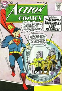 Action Comics (DC, 1938 series) #247 — The Return of Superman's Lost Parents!