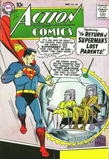 The Return of Superman's Lost Parents!
