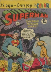Superman (Colour Comics, 1950 series) #112