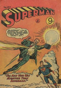 Superman (Colour Comics, 1950 series) #107