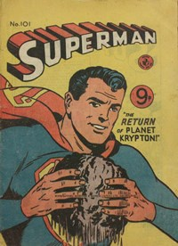 Superman (Colour Comics, 1950 series) #101