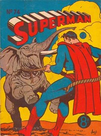 Superman (Colour Comics, 1950 series) #74 — Untitled (Cover)