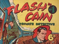 """Flash"" Cain Private Detective (KGM, 1949? series) #1 ([March 1949?])"