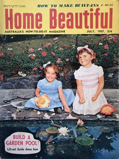 Home Beautiful (Sun, 1950? series) v36#7 (July 1957)