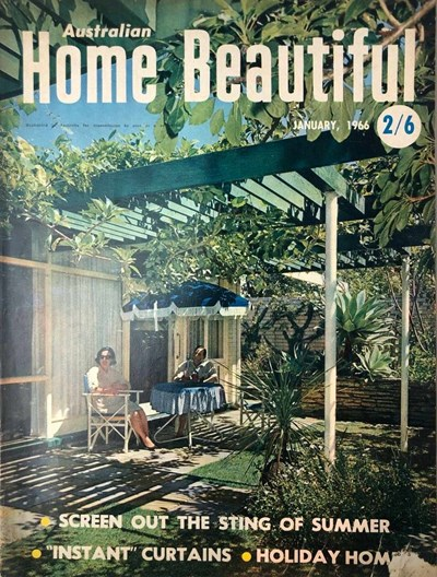 Australian Home Beautiful (Sun, 1965? series) v45#1 (January 1966)