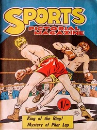 Sports Pictorial Magazine (KGM, 1953 series) #1