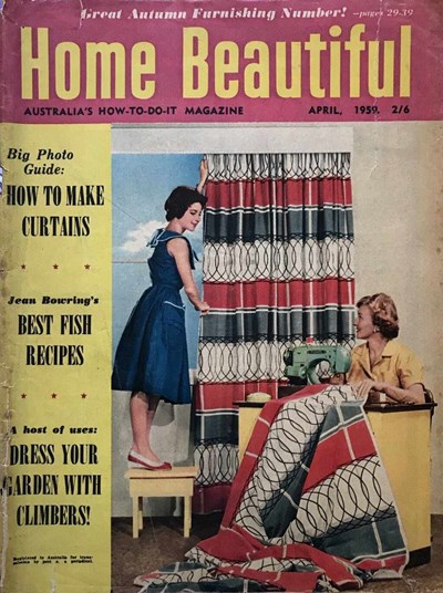 Home Beautiful (Sun, 1950? series) v38#4 (April 1959)