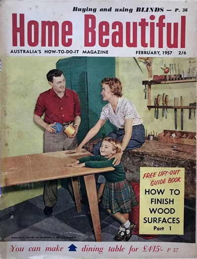 Home Beautiful (Sun, 1950? series) v36#2 (February 1957)