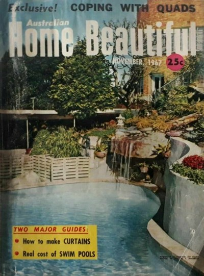 Australian Home Beautiful (Sun, 1965? series) v46#11 (November 1967)