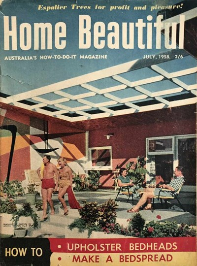 Home Beautiful (Sun, 1950? series) v37#7 (July 1958)