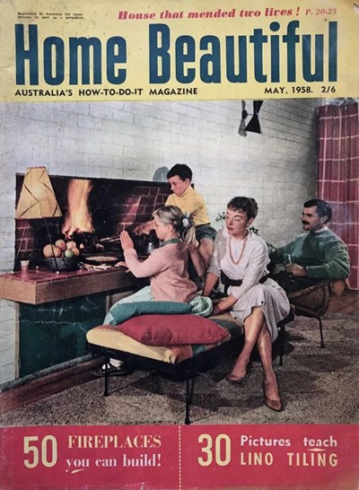 Home Beautiful (Sun, 1950? series) v37#5 (May 1958)