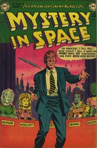 Mystery in Space (DC, 1951 series) #10 (October-November 1952)