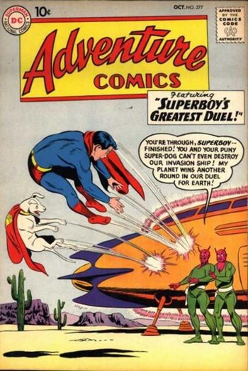 Adventure Comics (DC, 1938 series) #277 (October 1960)
