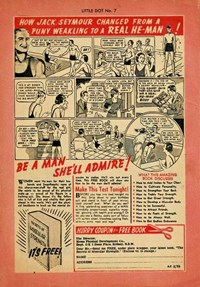 Little Dot (ANL, 1959 series) #7 — How Jack Seymour Changed from a Puny Weakling to a Real He-Man! (page 1)
