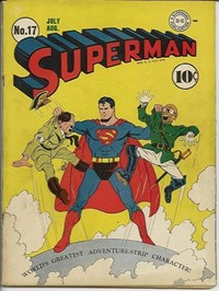 Superman (DC, 1939 series) #17 (July-August 1942)