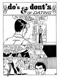 Do's & Dont's of Dating, Page 1—Teenage Romances (Murray, 1982 series) #1  ([December 1982?])