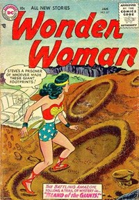 Wonder Woman (DC, 1942 series) #87 — Island of the Giants