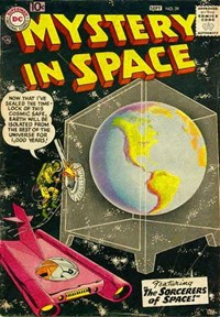 Mystery in Space (DC, 1951 series) #39 (August-September 1957)