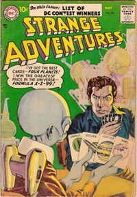 Strange Adventures (DC, 1950 series) #80 — Untitled (Cover)