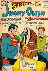 Superman's Pal, Jimmy Olsen (DC, 1954 series) #30 — Untitled (Cover)