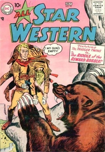 All Star Western (DC, 1951 series) #95 (June-July 1957)