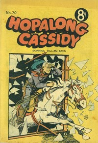 Hopalong Cassidy (Colour Comics, 1954 series) #70 — Untitled