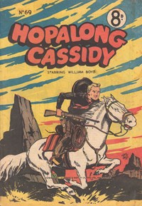 Hopalong Cassidy (Colour Comics, 1954 series) #69 — Untitled