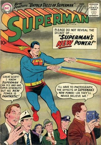 Superman's New Power