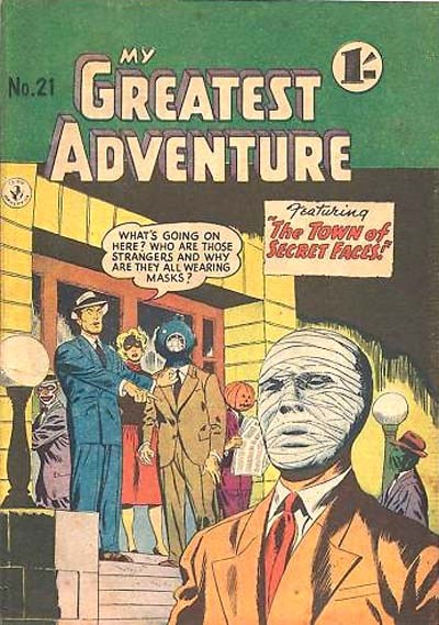My Greatest Adventure (Colour Comics, 1955 series) #21 ([December 1956])