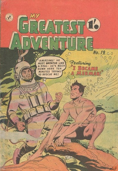 My Greatest Adventure (Colour Comics, 1955 series) #19 ([October 1956])