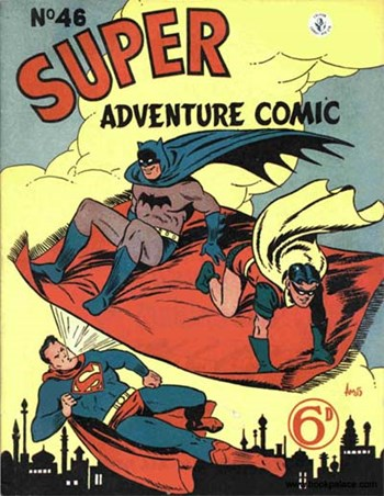Super Adventure Comic (Colour Comics, 1952 series) #46 ([April 1954])