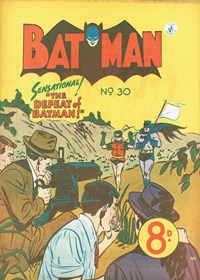 Batman (Colour Comics, 1950 series) #30 — The Defeat of Batman