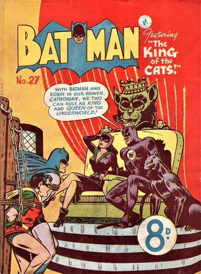 Batman (Colour Comics, 1950 series) #27 ([August 1952])
