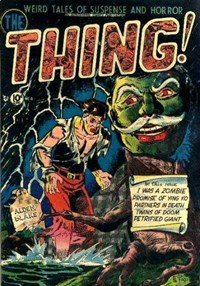 The Thing (Charlton, 1952 series) #4 (August 1952)