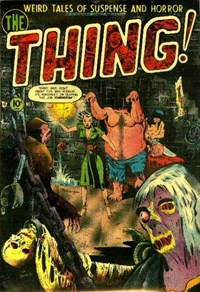 The Thing (Charlton, 1952 series) #5 (October-November 1952)