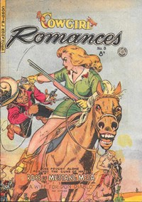 Cowgirl Romances (HJ Edwards, 1950? series) #8