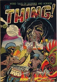 The Thing (Charlton, 1952 series) #6 (January 1953)