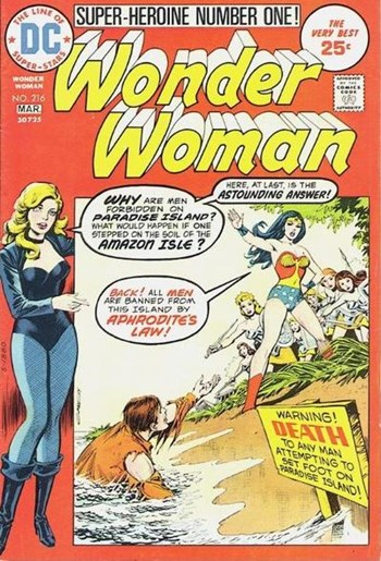 Wonder Woman (DC, 1942 series) #216 (February-March 1975)