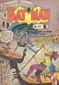 Batman (Colour Comics, 1950 series) #91