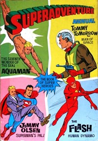 Superadventure Annual (Atlas Publishing, 1959 series) #1963-64 — No title recorded