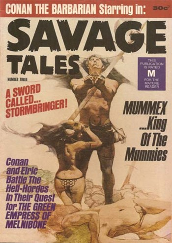 Savage Tales (KG Murray, 1972 series) #3  ([September 1972?])