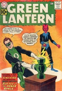 Green Lantern (DC, 1960 series) #9 — Battle of the Power Rings!