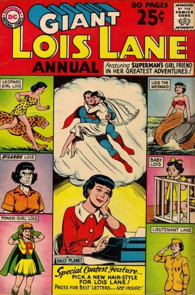 Lois Lane Annual (DC, 1962 series) #1 (Summer 1962)