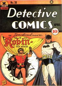 Detective Comics (DC, 1937 series) #38 (April 1940)