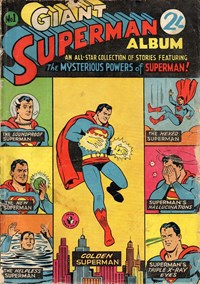 Giant Superman Album (Colour Comics, 1961 series) #1