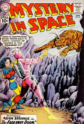 Mystery in Space (DC, 1951 series) #68 (June 1961)