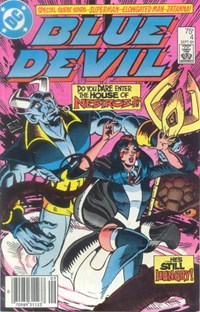 Blue Devil (DC, 1984 series) #4 — Untitled (Cover)