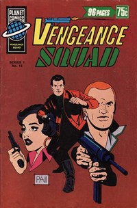 Planet Series 1 (Murray, 1977 series) #13 ([September 1978?]) —Vengeance Squad