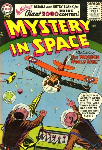 Mystery in Space (DC, 1951 series) #33 (August-September 1956)